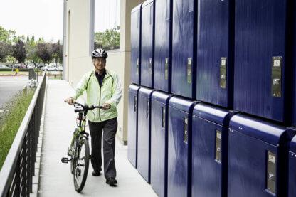 CycleSafe ProPark Bike Lockers, Custom Color, at Samsung Electronics