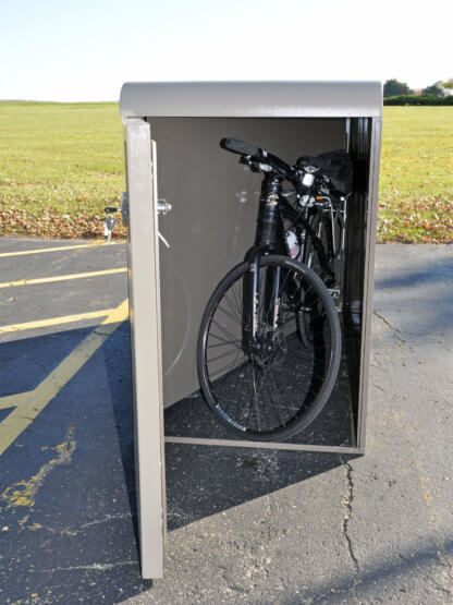 EcoPark Bike Locker, Interior