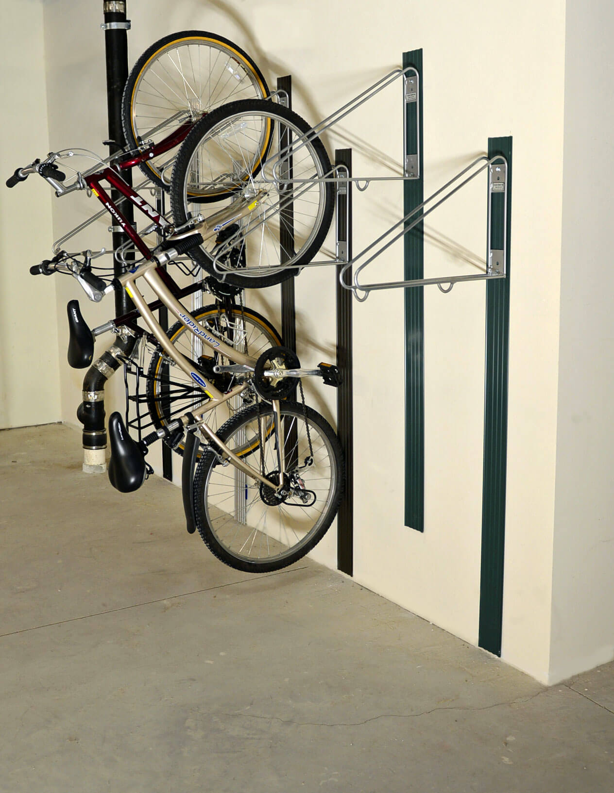 bike wall rack cyclesafe. Black Bedroom Furniture Sets. Home Design Ideas