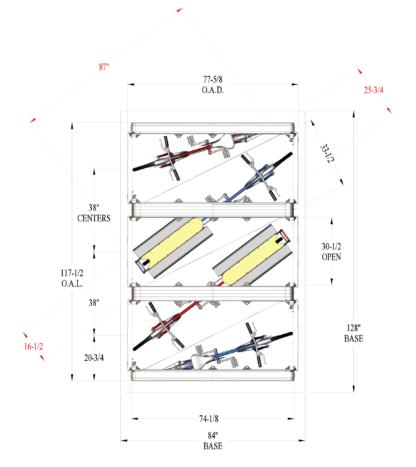Cargo Bike Locker Dimensions