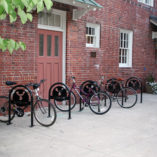Custom Bike U Rack, Aquinas College