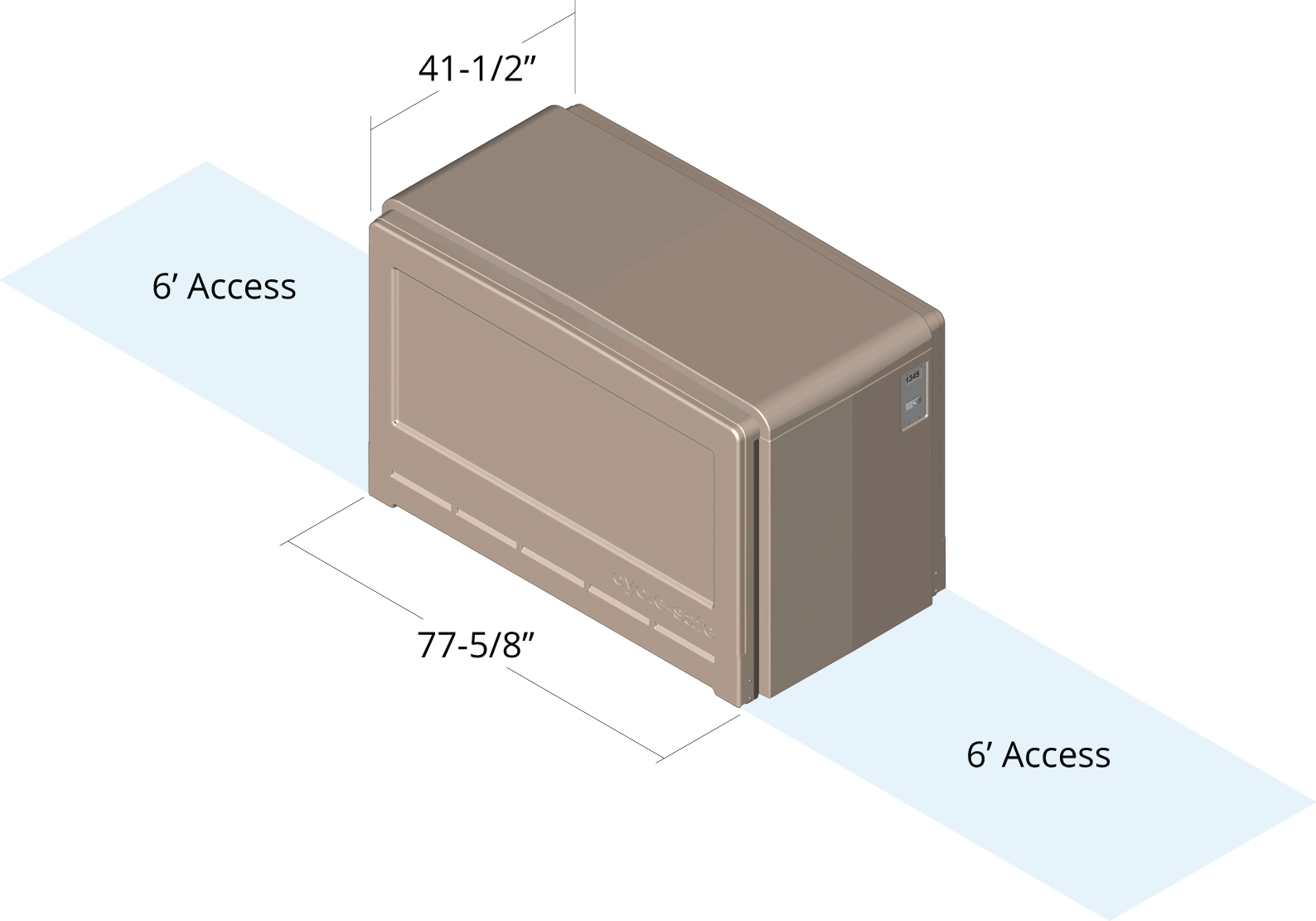 Bike Locker Dimensions