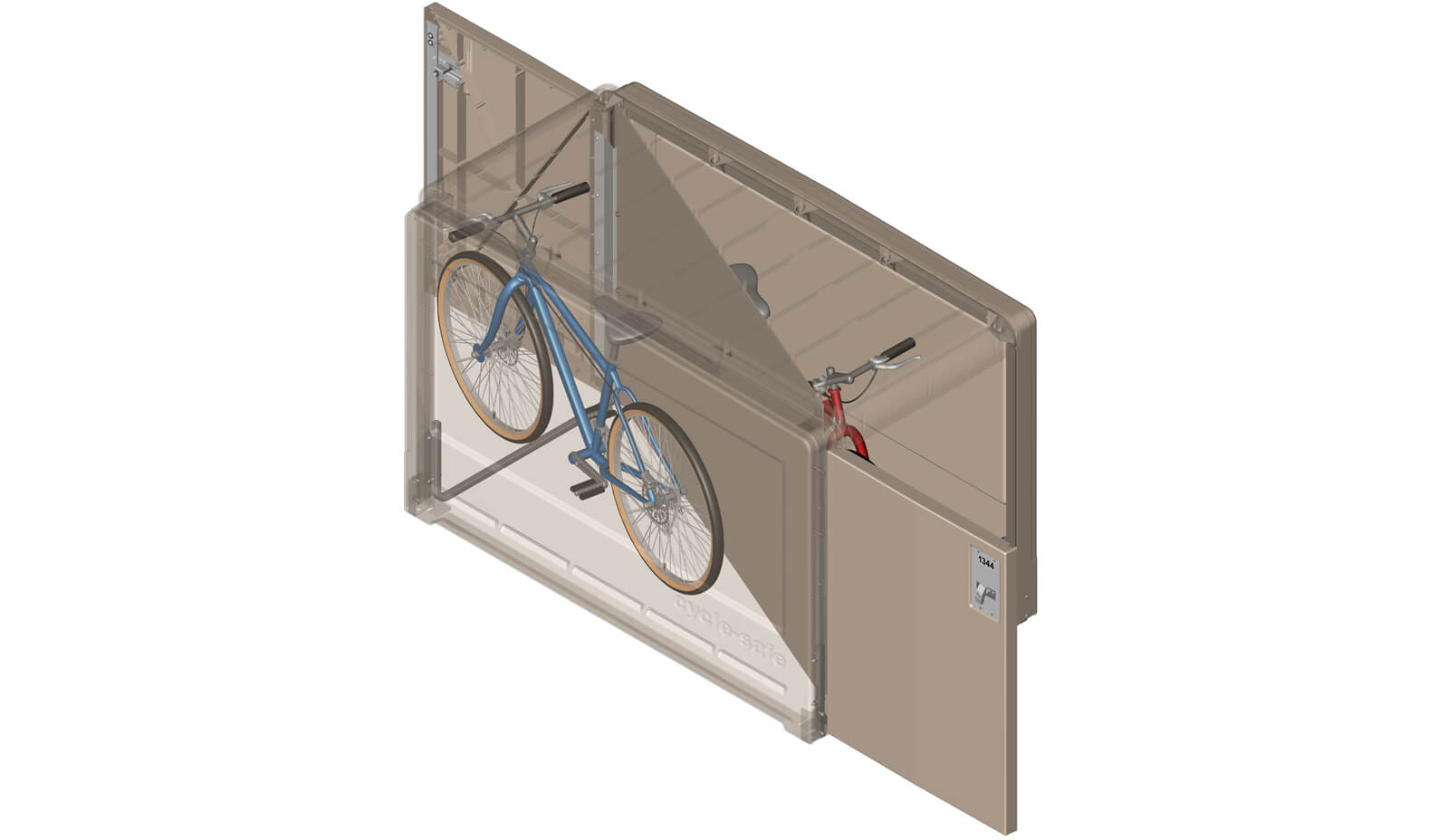 Modular Bike Locker